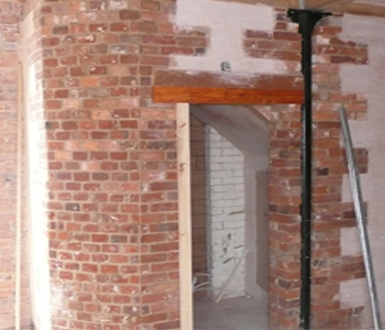 Lincolnshire Building Services Curved Brick work
