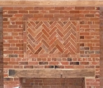 Lincolnshire Building Services Herringbone Brick work